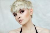 Platinum Blonde Modern Pixie